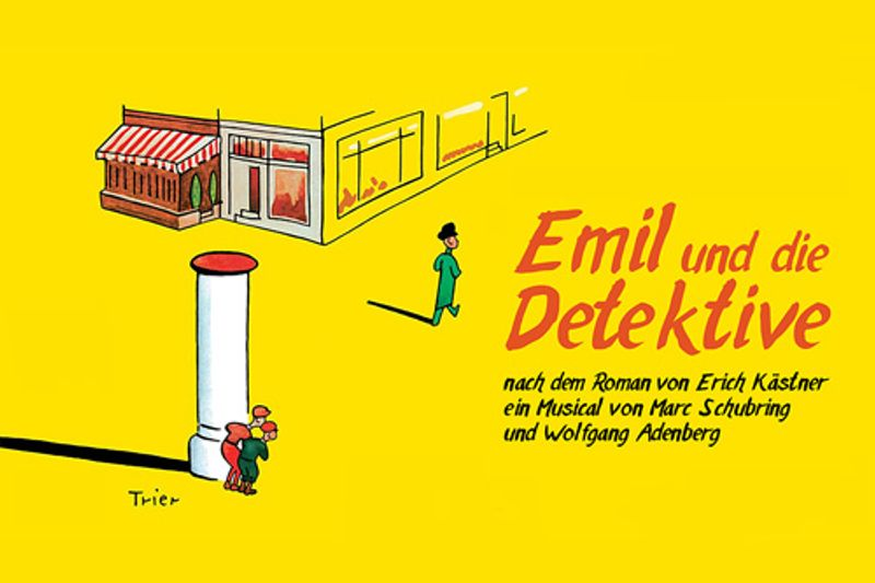 Postermotiv 'Emil und die Detektive'