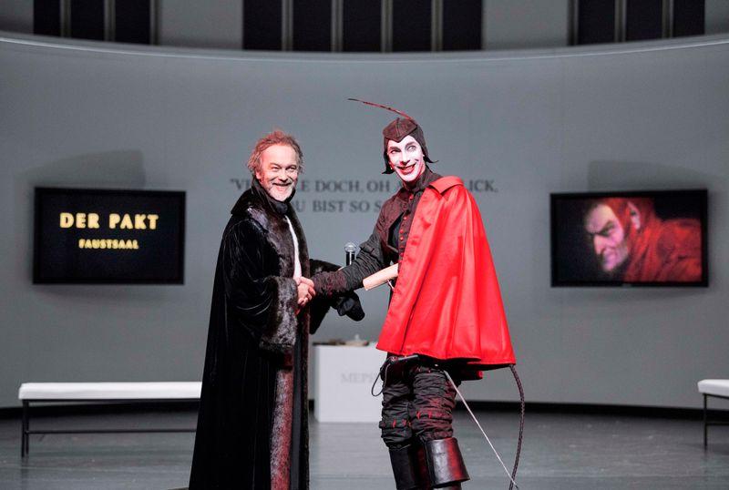 Szene aus FAUST (Staatstheater Cottbus)