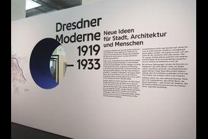 Dresdner Moderne 1919 bis 1933. Neue Ideen für Stadt, Architektur und Menschen