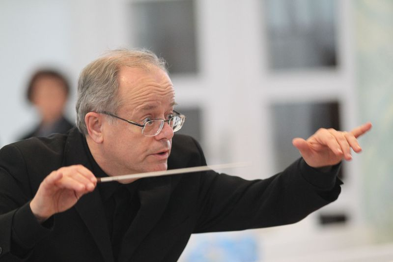 Kirchenmusikdirektor Marius Popp