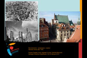 Rekonstruktion, Revitalisierung, Kreation – Warschau nach 1945
