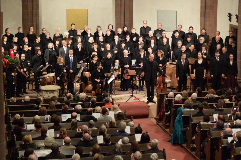 Oratorienkonzert zum 1. Advent in der Dreikönigskirche Frankfurt am Main | Leitung: Andreas Köhs