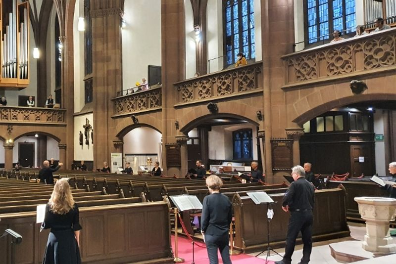 Kurt-Thoms-Kammerchor   Chorkonzert unter COVID-19-Bedingungen   Dreikönigskirche