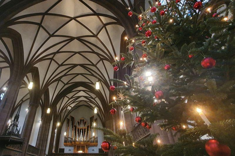 Weihnachten in der Dreikönigskirche Frankfurt am Main