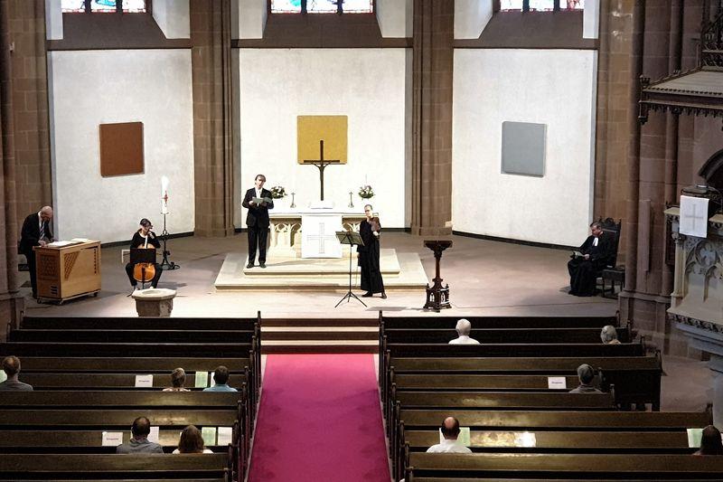 Solo-Kantate im Musikgottesdienst | Dreikönigskirche Frankfurt am Main