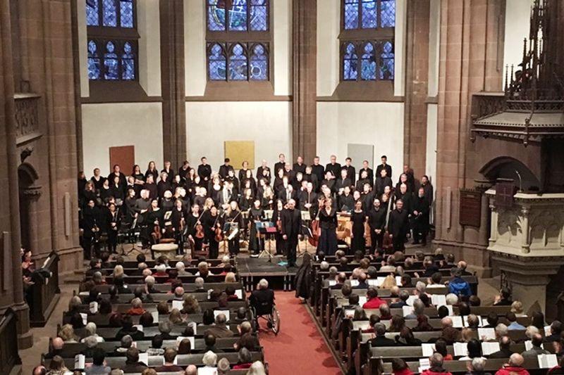 Oratorienkonzert zur Passion | Dreikönigskirche Frankfurt