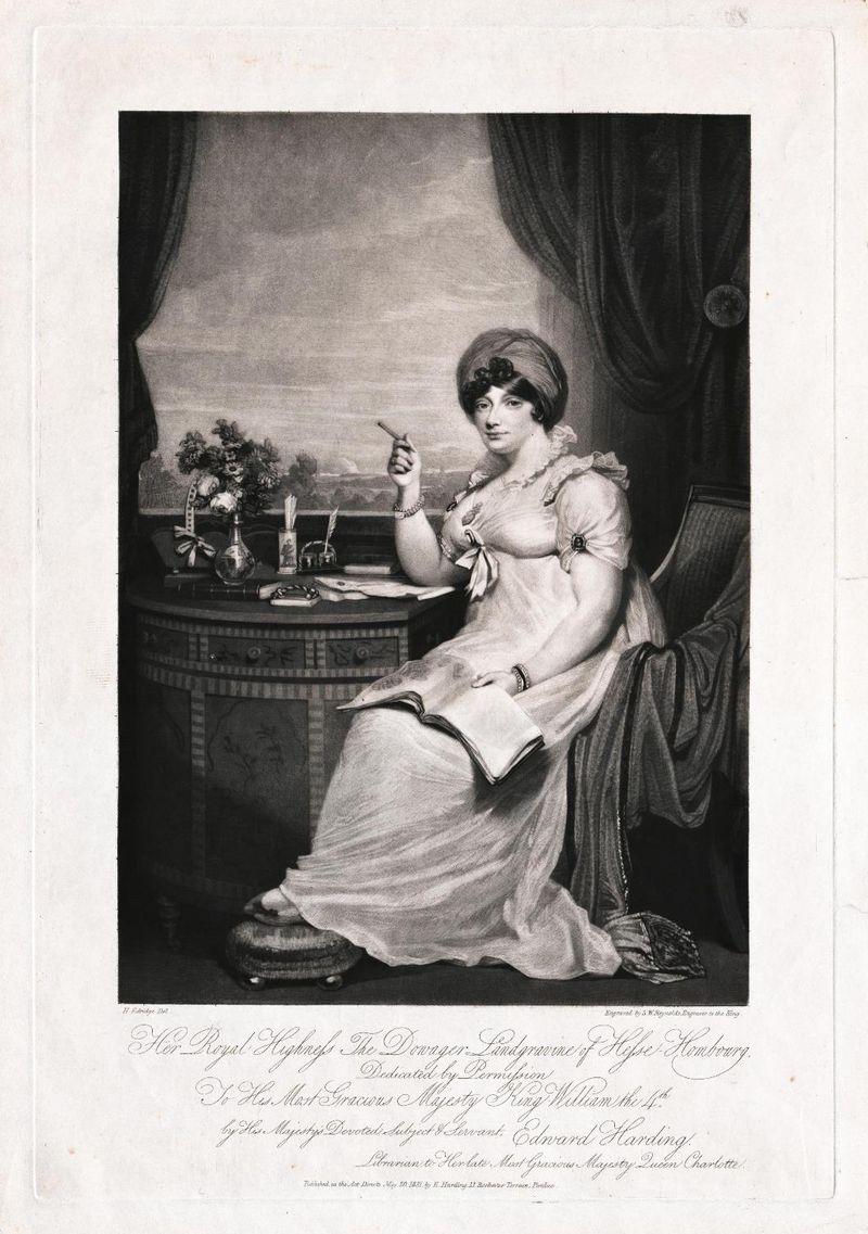 Henry Edridge (1769-1821) Elizabeth,  Landgräfin von Hessen-Homburg