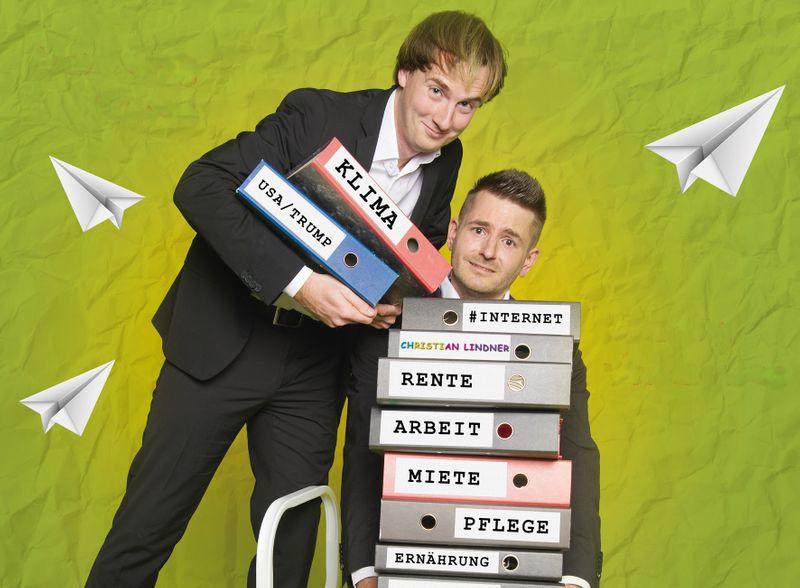 Martin Valenske & Henning Ruwe: Unfreiwillig komisch
