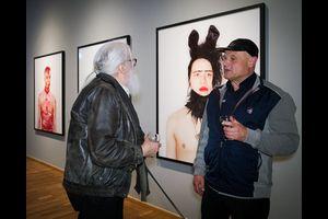 Künstlergespräch mit Andreas Höll und Erasmus Schröter
