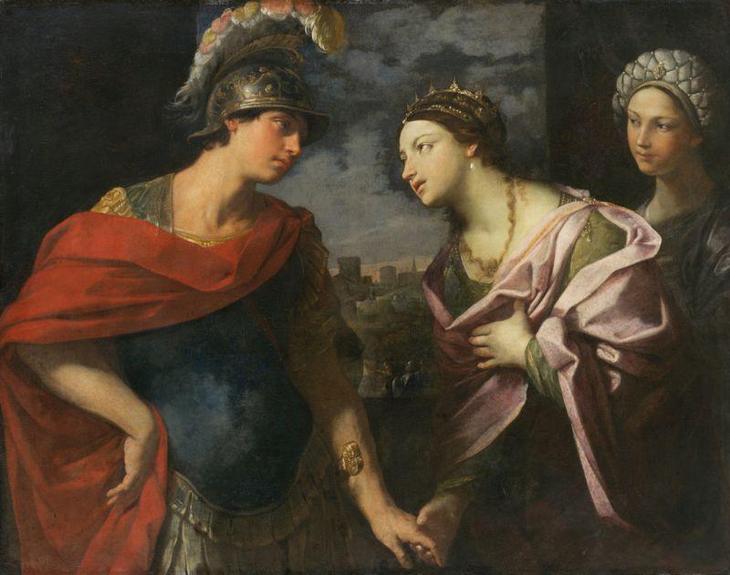 MHK, Reni Guido, Der Abschied des Aeneas von Dido (um 1630), Gemäldegal. Alte Meister, Foto: Ute Brunzel, GK 573