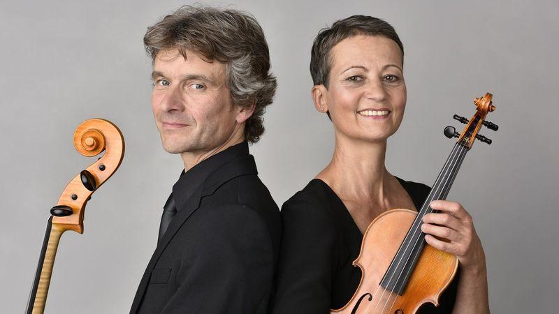 Vera und Norbert Hilger, Mitglieder des MDR-Sinfonieorchesters