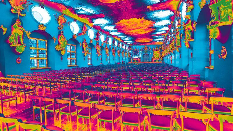 Rittersaal im Schloss Wolfegg © Reiner Pfisterer