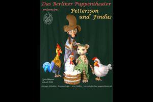 """Das Berliner Puppentheater spielt """"Pettersson & Findus"""""""