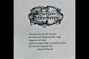 Jour Fixe der Freunde Gutenbergs