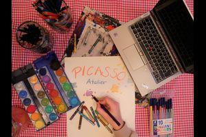 Digitales Picasso-Atelier