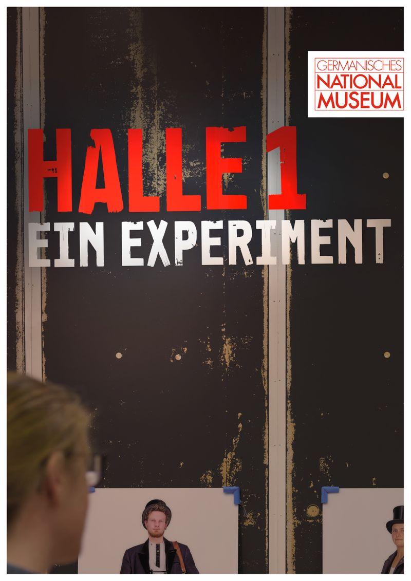 Germanisches National Museum: Halle 1. Ein Experiment