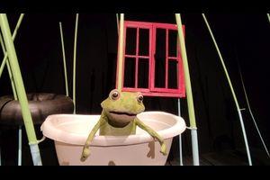 """Theater des Lachens zeigt: """"Quak – gehüpft wie gesprungen"""" 4+"""