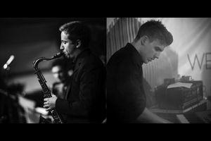 Jan-Peter Itze (Klavier) & Nico Graz (Saxophon)