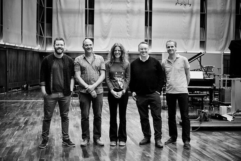 Florian Ross Quintet und Kristin Berardi (Vocals)