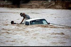 Gemeinsam gegen die Folgen der Flutkatastrophe im Iran