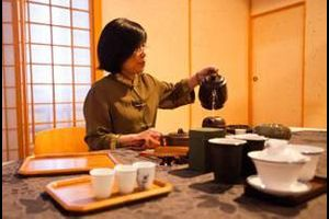 Kleine chinesische Teeschule