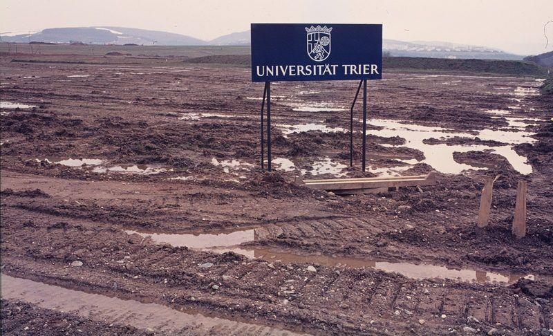 1970 wurde die Trierer Universität neu gegründet. © Adolf Schuler