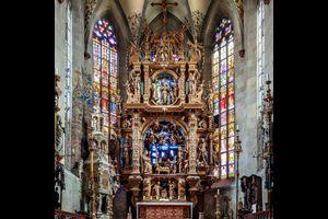 Der Hochaltar im Münsterchor zu Überlingen