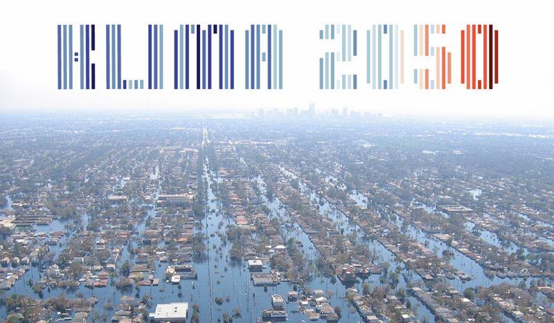 Überflutung in New Orleans nach Wirbelsturm Katrina 2005.