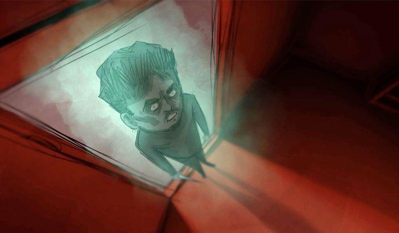 Filmstill aus dem Animationsfilm »Haytham«