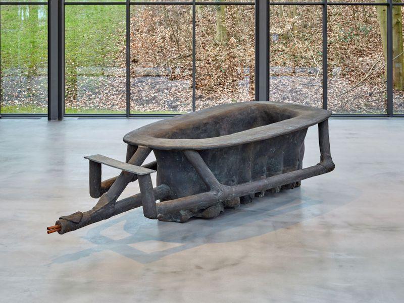 Joseph Beuys, Badewanne, 1961-1985, Sammlung Thaddäus Ropac © Estate Joseph Beuys, VG Bildkunst Bonn 2021, Foto Michael Richter