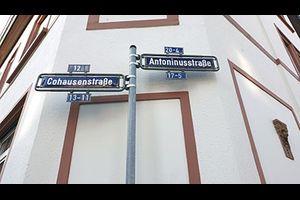 Archäologisch-historischer Rundgang zu den Straßennamen von Heddernheim