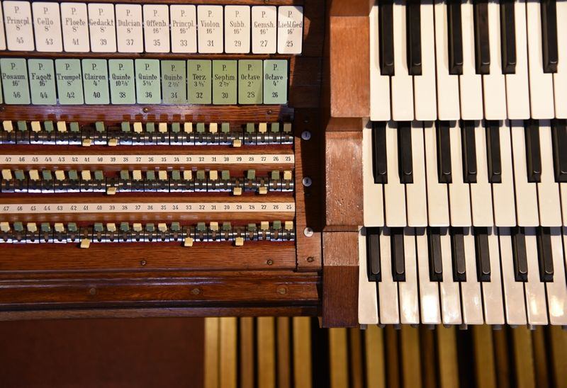 Spieltisch Sauer-Orgel Berliner Dom