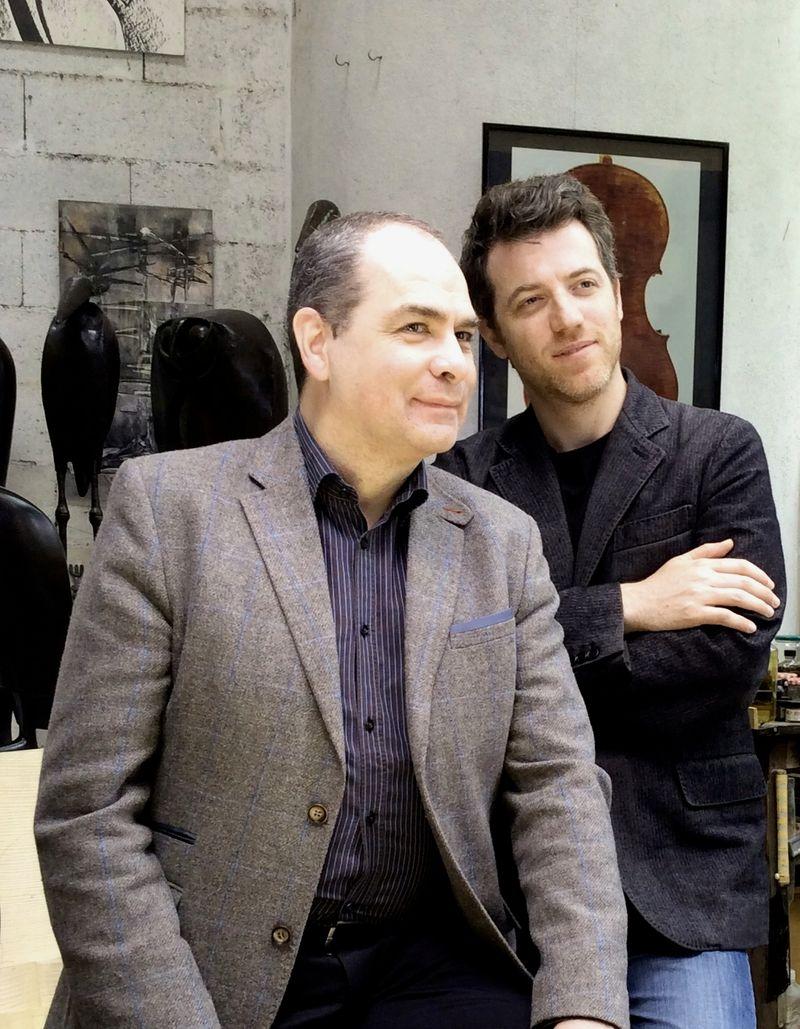 Philippe Cassard & Cedric Pescia © Bernard Martinez