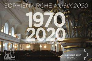50 Jahre Schuke-Orgel: Maximilian Schnaus spielt Charles Marie Widor