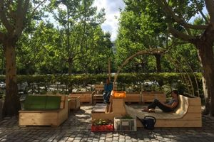 Parkplatzgarten am Gropius Bau