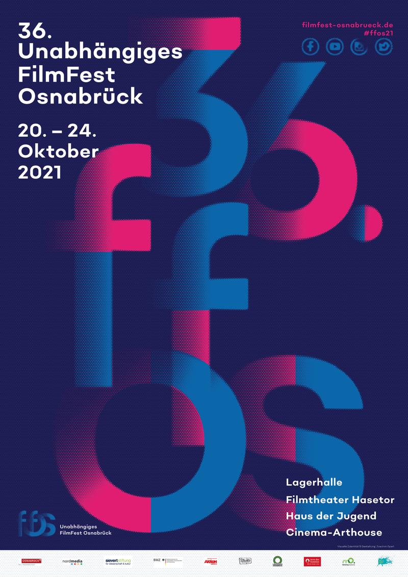 Plakat des 36. UNabhängigen FilmFest Osnabrück