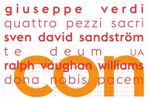 Guiseppe Verdi / Sven Sandström / Vaughan Williams