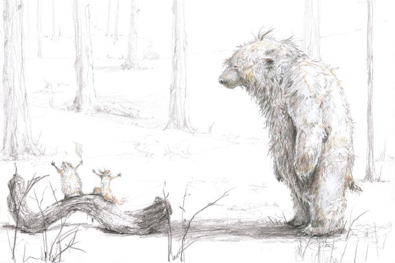 Illustration Sebastian Meschenmoser