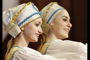 "Tanzensemble ""Nastjenka"" aus Weliki Nowgorod"