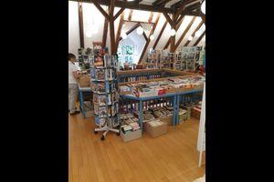 Bücherflohmarkt in der Bibliothek
